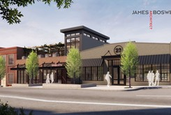 Auto Alley warehouses to be transformed <br>to restaurant and rooftop bar
