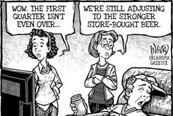 Cartoon: Scoring more points