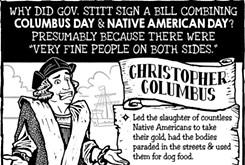Cartoon: Still settling, America