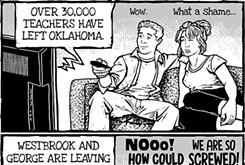 Cartoon: Traveling foul