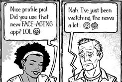 Cartoon: Information age