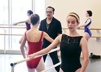 Soto teaches dance for two at OU