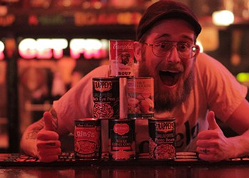 Mondays in December: Donate canned food, get free beer