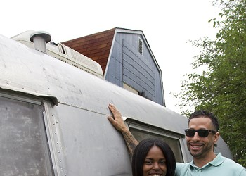 Mobile barbershop provides community and style