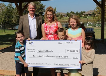 Peppers Ranch awarded grant for its work with foster youth, parents