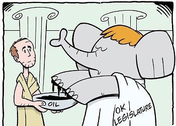 Cartoon: Republicans wash hands of tax vote