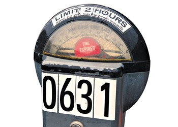 Goodbye mechanical, coin-operated parking meters and hello pay-by-plate technology