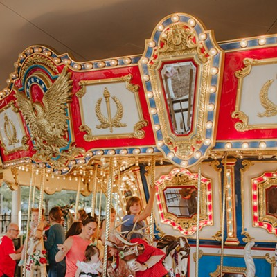 Carousel gets a fresh spin at Myriad Botanical Gardens