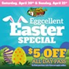 Eggcellent Easter Special at Andy Alligator's @ Andy Alligator's Fun Park