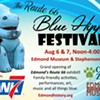 Route 66 Blue Hippo Festival @ Edmond Historical Society & Museum