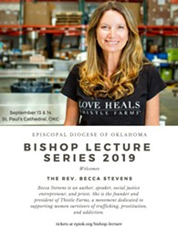 Bishop Lecture Series Welcomes Becca Stevens - Uploaded by Sarah Elizabeth Smith