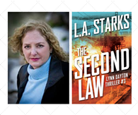Author L.A. Starks & her thriller THE SECOND LAW - Uploaded by DianeMarketing