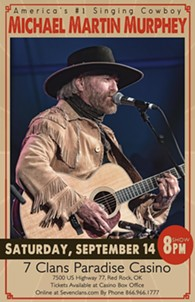 Michael Martin Murphey live at 7 Clans Casino - Paradise - Uploaded by Shea