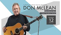 Don McLean live in concert! - Uploaded by Shea
