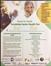 Harvest For Health Senior Health Fair by Brookdale Home Health - Uploaded by Heather Park