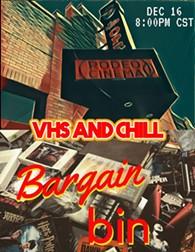 VHSANDCHILL BARGAIN BIN - Uploaded by VHSANDCHILL