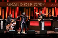 Kyle Dillingham & Horseshoe Road performing on the Grand Ole Opry stage. - Uploaded by Kyle Dillingham