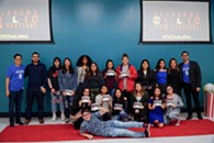 Students from the Youth Film Workshops (sponsored by the OKCine Latino Film Festival) - Uploaded by Rogelio Almeida