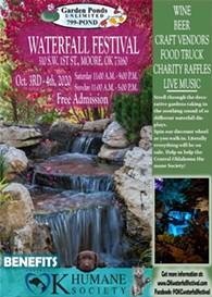 Ok Waterfall Festival Oct 3rd & 4th - Uploaded by Lauri Lucas