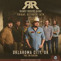 Randy Rogers Band live at The Criterion in OKC on October 16, 2020. - Uploaded by Shelley Rowan