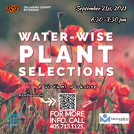 Water-Wise Plant Selections - Uploaded by ocesoklahomacounty@okstate.edu