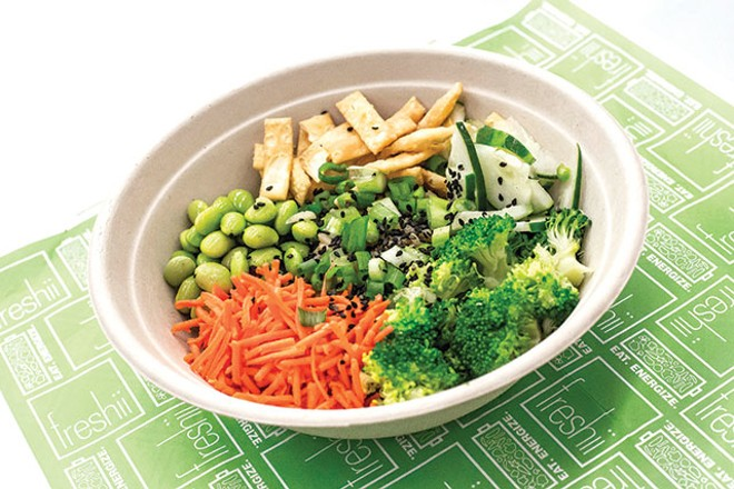 HEALTHY BOWLS AT FRESHII (PHOTO BY ROB BARTLETT)