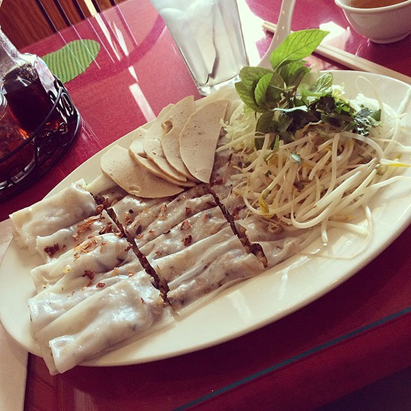 BANH CUON AT VIETNAM CUISINE (PHOTO BY JESSICA BRYCE YOUNG)