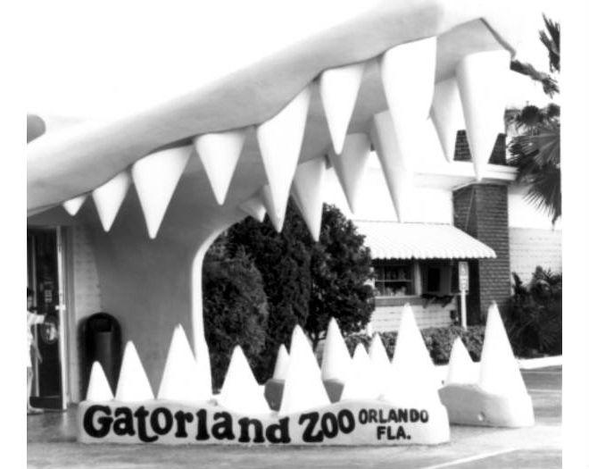 21 vintage shots of Orlando's Gatorland attraction