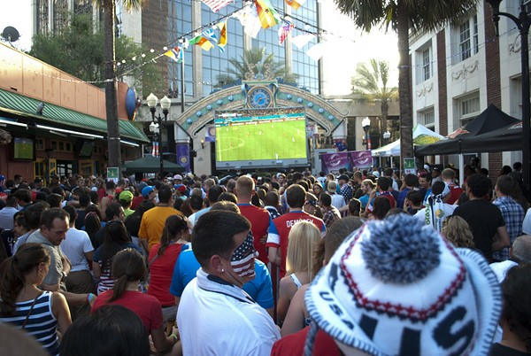 25 Fan Favorites from the USA vs Ghana Wall St Party