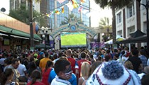 Wall Street Plaza is one of the best places in the U.S. to watch the World Cup