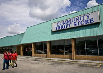 A different sort of thrift store