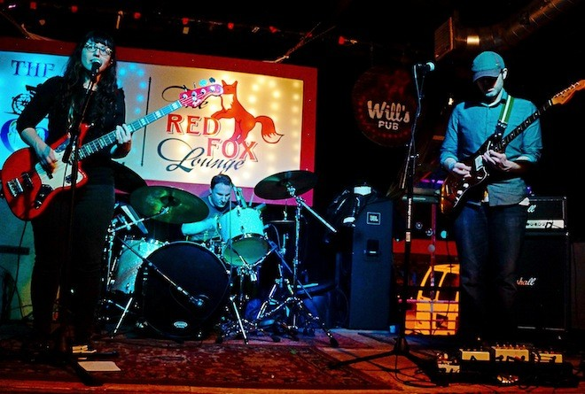 All fuzzed out: Photos from Beach Slang and the Pauses' secret show at Will's Pub - JIM LEATHERMAN