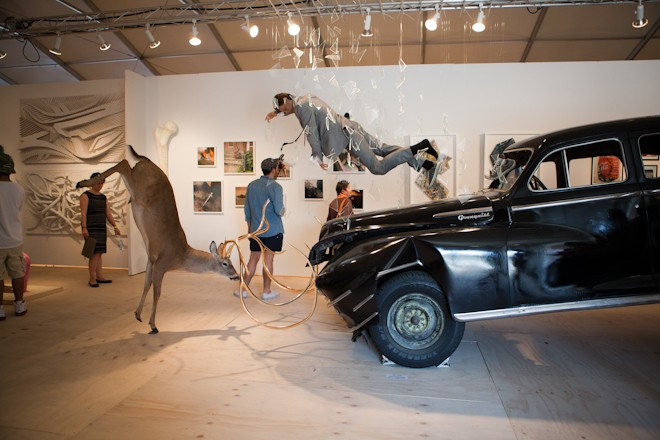Incredible works from Art Basel Miami 2013