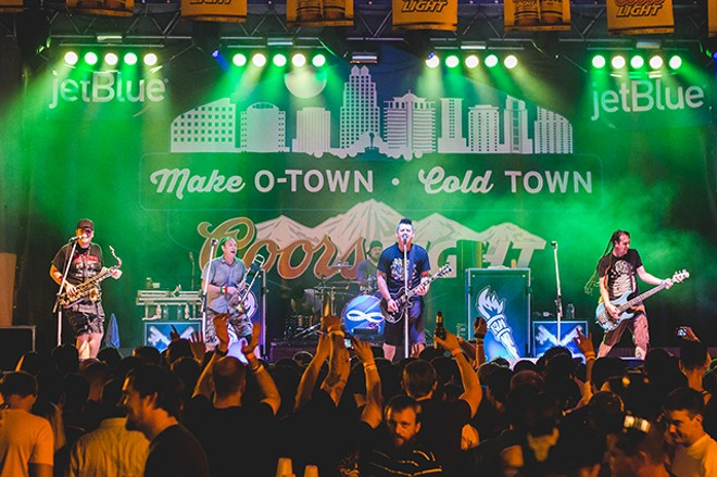 Look what happened: Photos from Less Than Jake at FMF - JAMES DECHERT