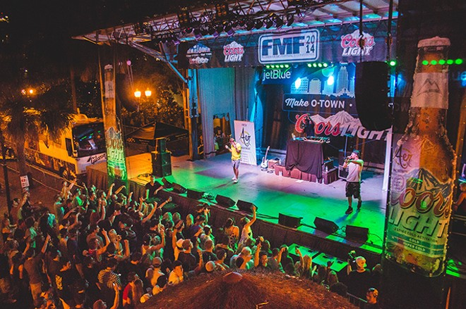More photos from Florida Music Festival, featuring Aer, Solillaquists and more - JAMES DECHERT