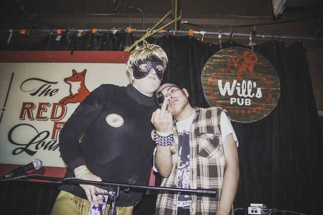 Ocean of love: Photos from the King Khan & BBQ Show and Milk Lines at Will's Pub - CHRISTOPHER GARCIA