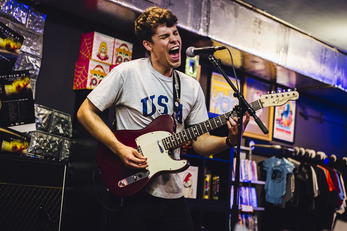 Pioneer of nothing: Photos from You Blew It!'s EP release at Park Ave CDs