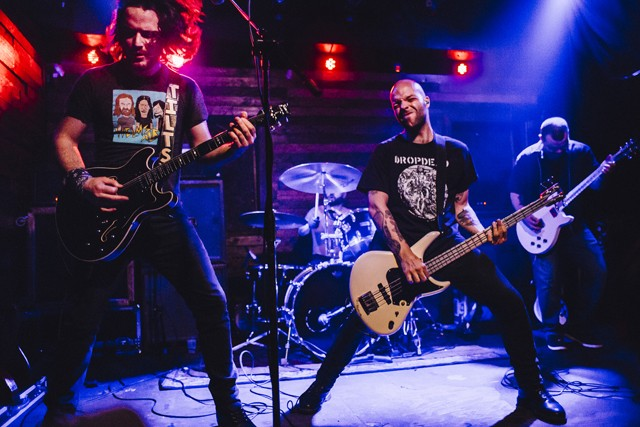 Restarter: Photos from Torche, Wrong and House of Lightning at Backbooth - JAMES DECHERT