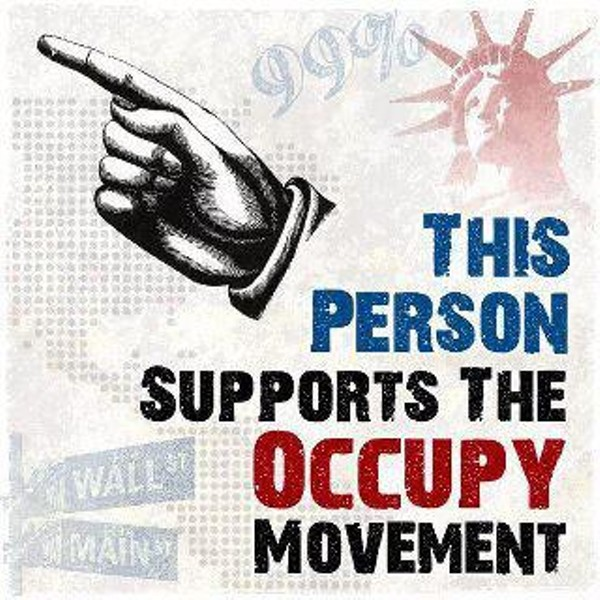 A new Occupy Orlando Facebook meme asks users to share this graphic to show their support of the movement.