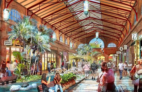A new rendering of what Disney has in store for Disney Springs - WALT DISNEY CO.