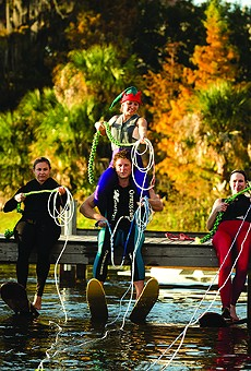 Albin Polasek Museum hosts Holiday Boat Parade Festival of Lights and Ski Show