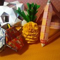 Alvin Aki leads Japanese origami folding workshop