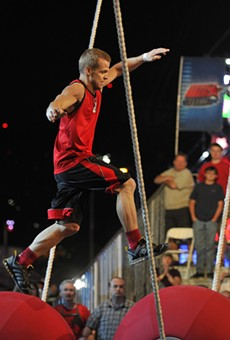 American Ninja Warrior will be filming in Orlando this weekend