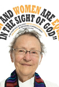 At 80 years old, Rita Lucey defies centuries of doctrine and dogma by becoming a Catholic priest