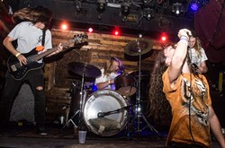 Bad Antics at Backbooth (photo by Christopher Garcia)