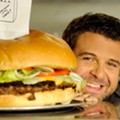 B&B Junction hosts Man v. Food-style burger-eating contest