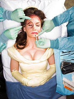 Belle undergoes plastic surgery in order to keep up on her beautiful good looks.