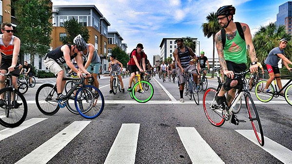 PHOTO BY CHRIS TRICOLI, VIA ORLANDO CRITICAL MASS