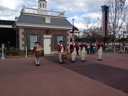 Bid farewell to the fife & drum corps and other popular Epcot live entertainment (photos by Seth Kubersky).