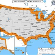 Borderline: ACLU map shows that the entirety of Florida is a rights-free immigration zone